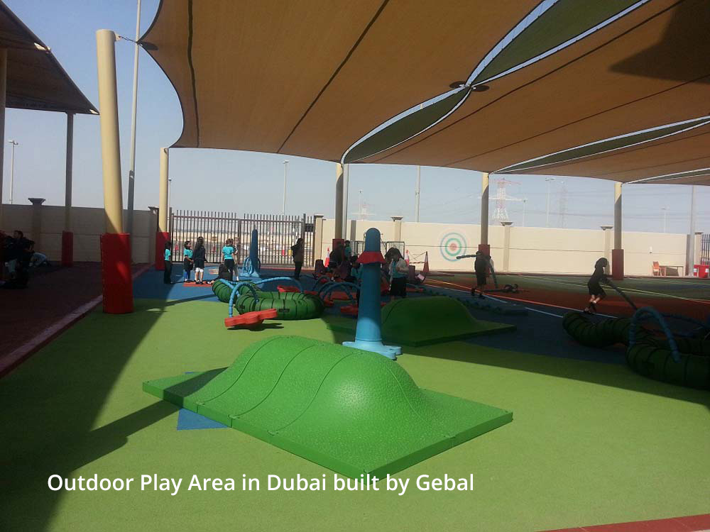 Outdoor Play Design and Installation in UAE - The Gebal Way