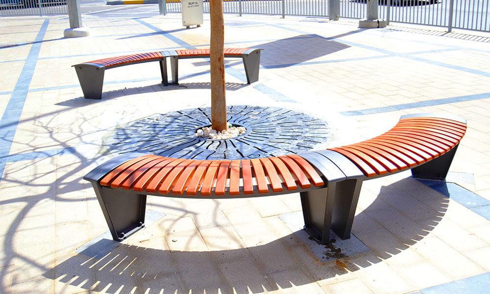 stylish street furniture