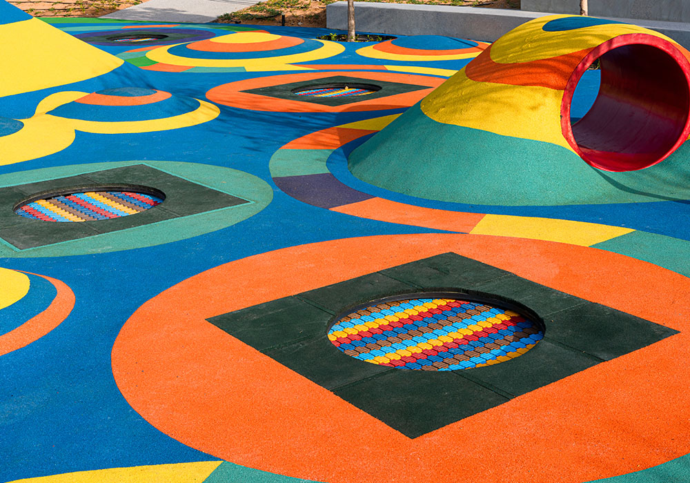 rubber flooring Abu Dhabi
