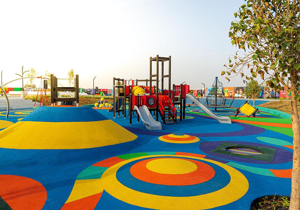 outdoor playground equipment Dubai